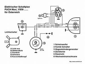 Re  76 77 Puch Maxi Wiring Diagram Electrical  U2014 Moped Army