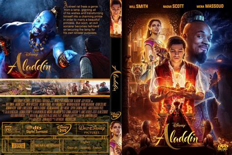 Aladdin 2019 DVD-Cover