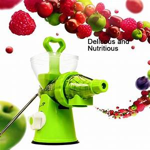 Manual Fruit  U0026 Vegetable Juicer