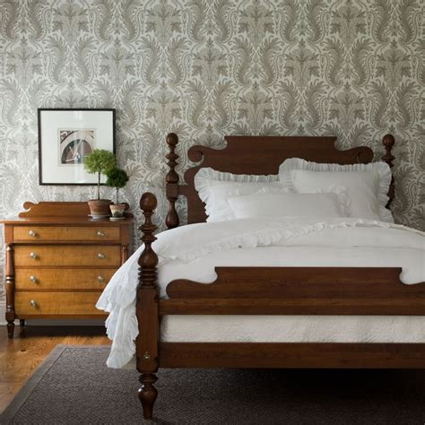 quincy bed ethan allen  guest room bed