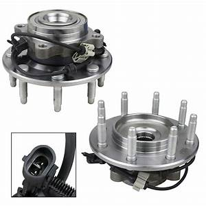 Pair Front Wheel Hub Bearing For 01