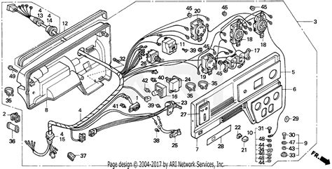 honda eb5000x a generator jpn vin ea7 3000001 parts diagram for eb5000x box