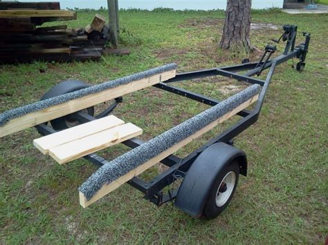 Jon Boat On Utility Trailer by Daysailers To Die For Jon Boat Trailer