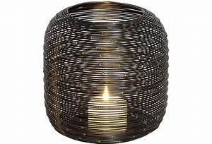 Windlicht Weiß Metall : holl nder windlicht albero gross metall schwarz ~ Markanthonyermac.com Haus und Dekorationen