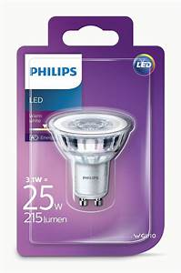 Led Spots Gu10 : philips gu10 led spot ledclassic 3w 25w vervanger ~ Orissabook.com Haus und Dekorationen