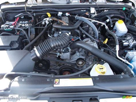 2008 Jeep Wrangler Unlimited X 38 Liter Smpi Ohv 12valve