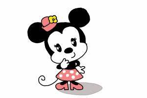 How to Draw Chibi Minnie Mouse - DrawingNow