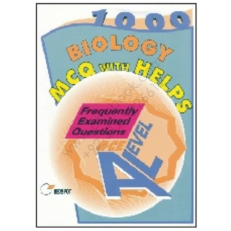 GCE A Level BIOLOGY 1000 MCQs With Helps REDSPOT ...