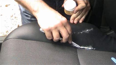 comment reparer un canape en cuir dechire comment r 233 parer un si 232 ge auto en cuir d 233 chir 233 minutefacile