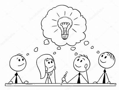 Meeting Board Advisory Recap Client Cartoon Team