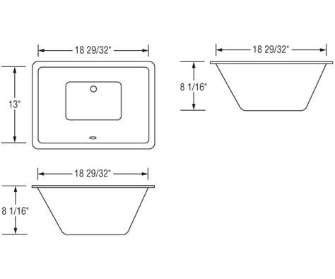 sink dimensions gallery