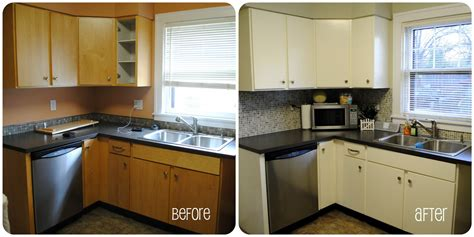Refacing Kitchen Cabinet Doors Ideas - 7 hacks to cheaply redo your property 39 s kitchen bathrooms spark rental