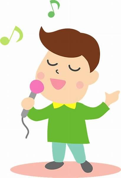 Singing Clipart Karaoke Transparent Creazilla