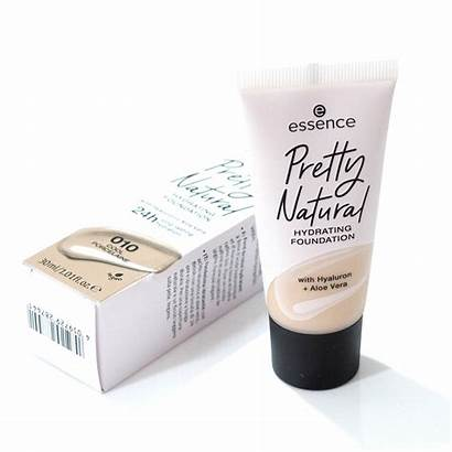 Essence Foundation Hydrating Pretty Natural Swatches