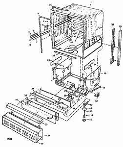 Viking Range Corp  Undercounter Dishwasher Parts