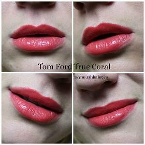 Tom Ford Lip Colour in True Coral (19) - Anoushka Loves