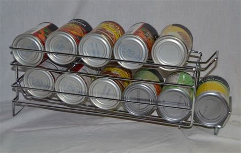 amazoncom idirect fifo food storage  organizer rack rotate rotation canned goods pantry