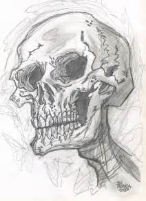 Cool Skull Sketches Drawings