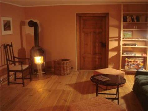 Terracotta Wandfarbe Wohnzimmer by Das Landhaus