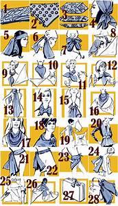 Comment Mettre Une Cravate : comment mettre nouer porter foulard carr ~ Nature-et-papiers.com Idées de Décoration