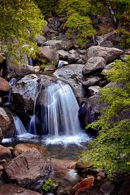 Cascade Falls Yosemite National Park