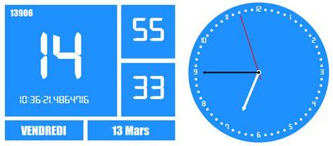 horloge bureau windows xp time2015 i media