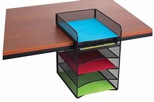 Mesh hanging desk organizer file folder letter tray for Hanging document organizer