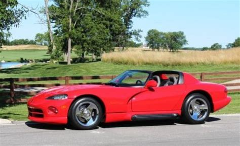 buy car manuals 1996 dodge viper auto manual find used 1994 dodge viper rt 10 a c low miles manual new tires leather chrome wheels in