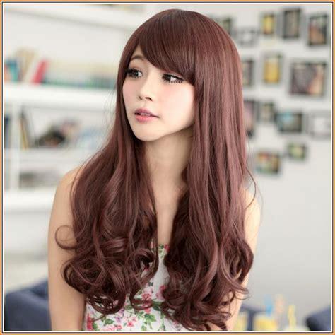 asian hair colors asian orange brown hair color jpg 645 215 645 hairgoals