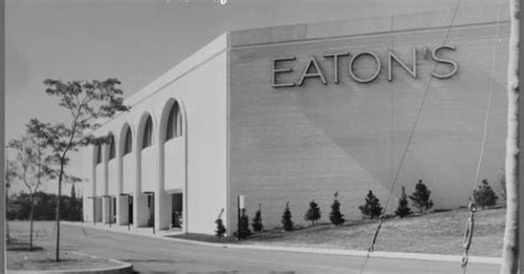 Department Stores Then And Now- Eatons Sherway. I Worked