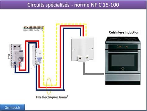 sch 233 ma 233 lectrique des circuits sp 233 cialis 233 s la prise 32a cuisini 232 re 224 induction tests jeux