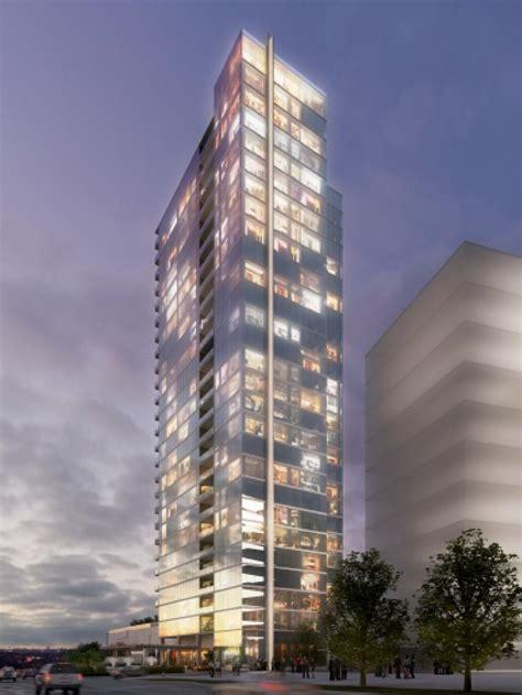 luxury condo tower  underway   legacy west