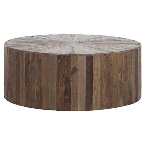 Wohnzimmertisch Holz Modern by Cyrano Reclaimed Wood Drum Modern Eco Coffee Table