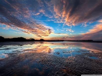 Sky Sunset Desktop Background Wallpapers Standard Wallpaperswide