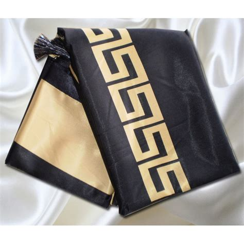 versace linen satin table cloth lux  box rrp  usd