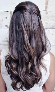Coiffure Mariage Invitée : coiffure invit e mariage cheveux longs ~ Melissatoandfro.com Idées de Décoration