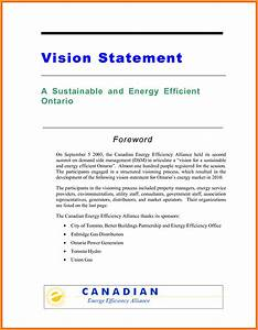 examples of personal vision and mission letter format mail With vision statement template free