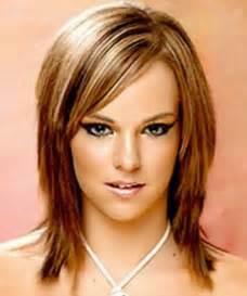 Frisuren Lange Haare Gesichtsform by Mittellange Haare Frisuren Damen