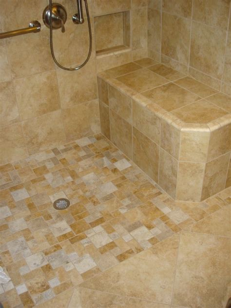 bathroom curbless shower design pictures remodel decor