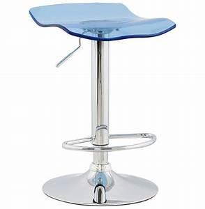 Tabouret De Bar Plexiglas : tabouret de bar plexiglass surf bleu ~ Teatrodelosmanantiales.com Idées de Décoration