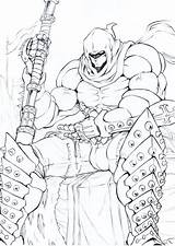 Sketch Executioner Doctorzexxck Drawings Deviantart Anime sketch template