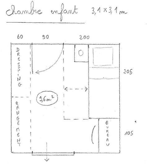 taille chambre enfant dessiner des plans fonctionnels conseils thermiques