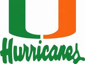 Miami Hurricanes Logo #1 NCAA & NFL Logos Pinterest