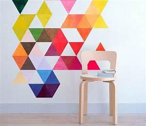 Wand Stellenweise Streichen : wandgestaltung quadrate garten ideen herbst ~ Watch28wear.com Haus und Dekorationen