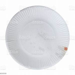Disposable Paper Plate For Food Stock Photo - Download Image Now - iStock