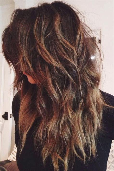 ideas  long hairstyles layers