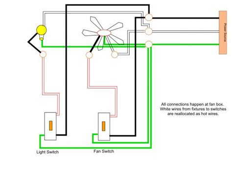 how to wire a ceiling fan with light install ceiling fan with light one switch best