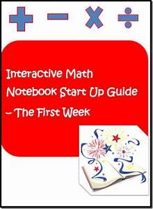 Classroom Freebies  Interactive Math Notebook Start Up