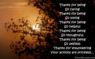 thank you messages for volunteers appreciation quotes wishesmessages