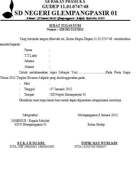 Contoh Surat Nota Dinas Polri Suratmenyuratnet